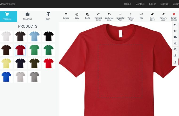 How you can Create Your Own T-Shirt Having a Design Tool
