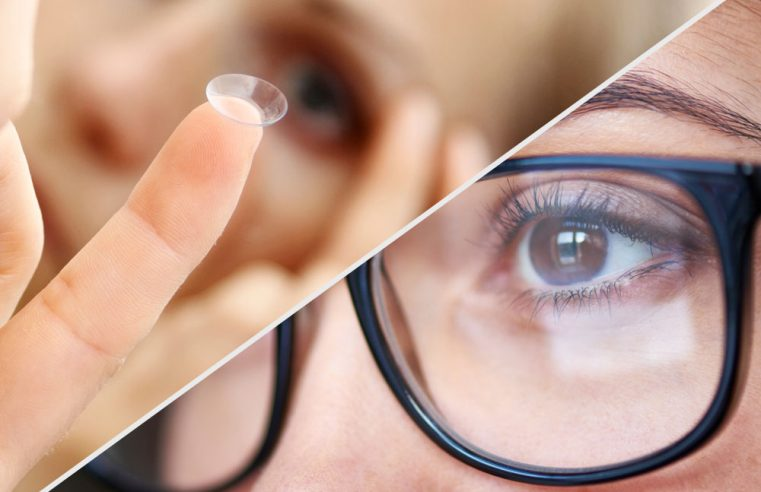 Glasses vs Contact Lenses