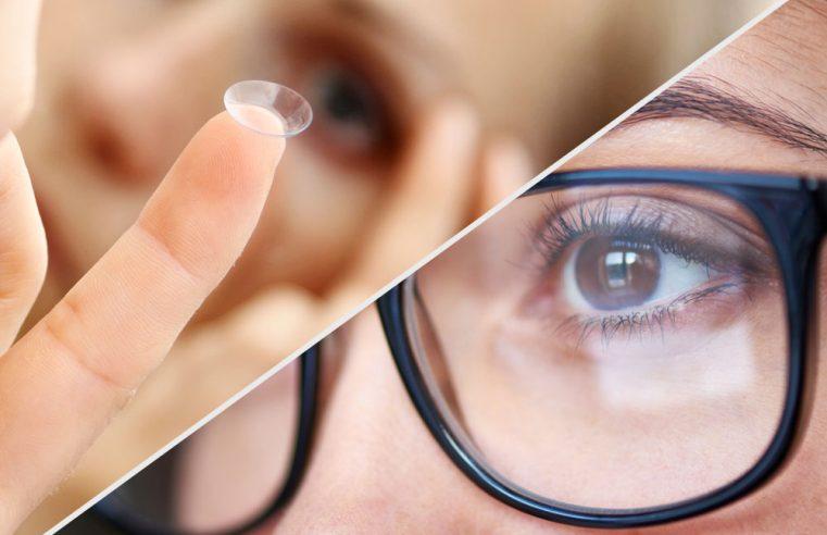 Glasses vs Contact Lenses